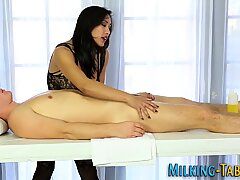 Asian sex therapist sucks and gets banged