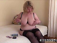 plumper big tits hot mom big man sausage black cock assfuck cum mature