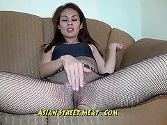 flesh cock-squeezing Thai stretch pants Demands Ass Fucking