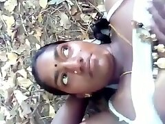 desi indian tamil girl girija outdoor sex