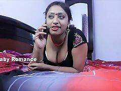 Hot Desi Shortfilm 411 - SriPriya Aunty Navel Kissed & Hot Cleavage Show