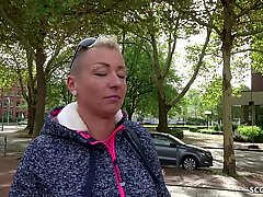 GERMAN SCOUT - MUTTER MANDY IN ARSCH GEFICKT BEI STRASSEN audition DEUTSCH