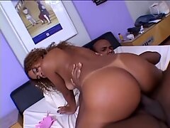 Hard interracial sex
