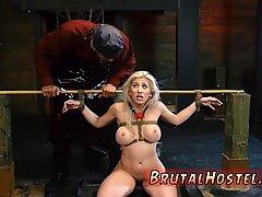 Slave vibrator bondage Big-breasted blondie bombshell Cristi Ann is on vacation boating