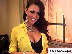 FirstClassPOV - Jessica Jaymes sucking a monster cock, big tits, big booty